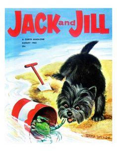 Jack and Jill Magazine 1962