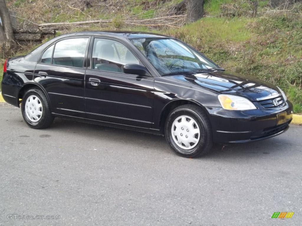 Honda Civic 2002 Honda Civic Ex Sedan For Sale