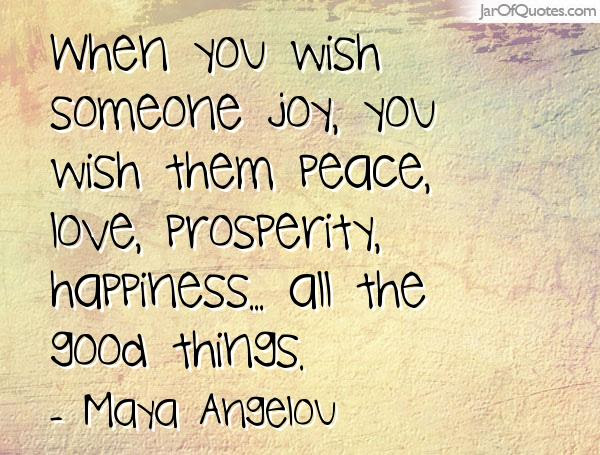 Quotes About Peace And Prosperity 97 Quotes