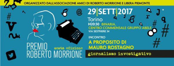 """""""A proposito di Mauro Rostagno"""", il 29 settembre a Torino"""