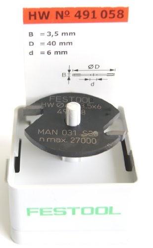 Disque /à Rainurer HW D40x1,5