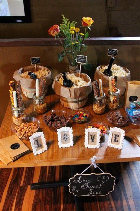 Best 25  Wedding popcorn bar ideas on Pinterest   Popcorn