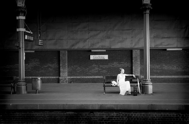 Geelong Train Station Wedding Photo One of my favorite wedding photos that