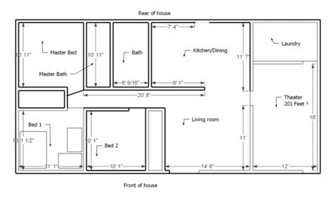 small house layout simple small house floor plans