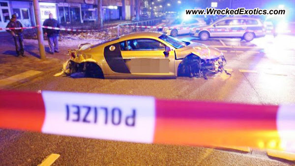 Almost Everything Autobody's Wreck of the Day--Audi R8 V10