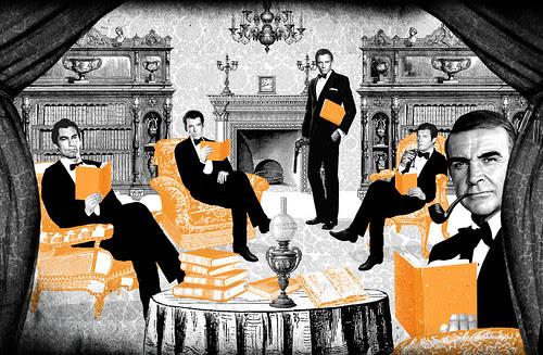 James Bond tea time by la casa a pois