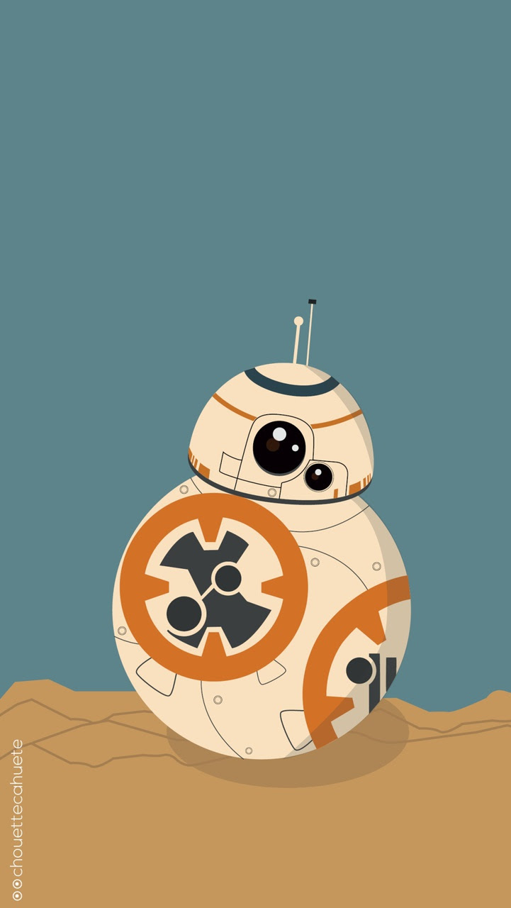 Bb 8 Star Wars Iphone Wallpaper Image 3926877 On Favim Com
