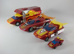 Transformers Rodimus/Hot Rods modo alterno