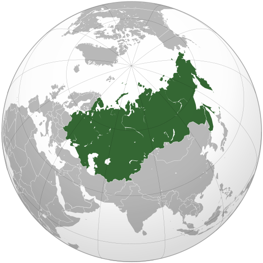File:Union of Soviet Socialist Republics (orthographic projection).svg
