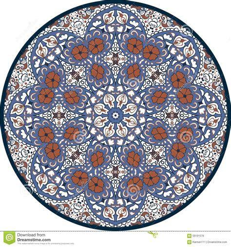 Hand drawn Mandala Design. Concept Image Circle For Card