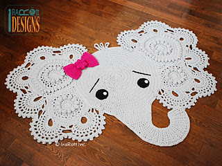 http://www.ravelry.com/patterns/library/josefina-and-jeffery-elephant-rug