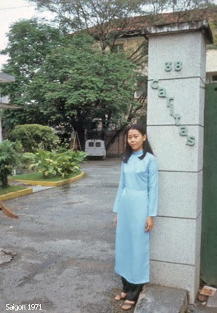 Saigon 1971 - CARITAS - 38 Tú Xương Sài Gòn