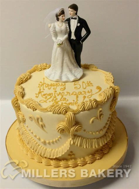 Custom Anniversary & Engagement Cakes ? Millers Bakery