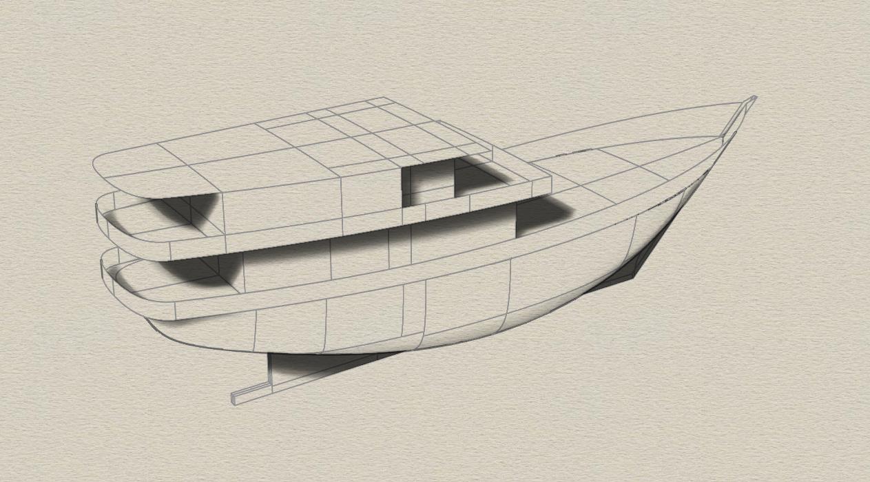 30 Meter Kapal Layar Mesin Pinisi