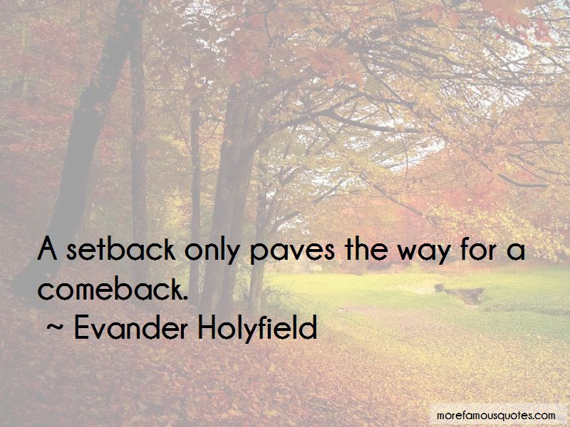 Setback Comeback Quotes Top 10 Quotes About Setback Comeback From