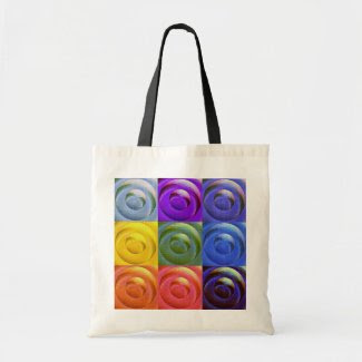 Circles of Love Budget Tote bag