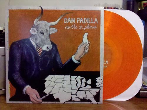Dan Padilla - As The Ox Plows LP - Orange Vinyl /100