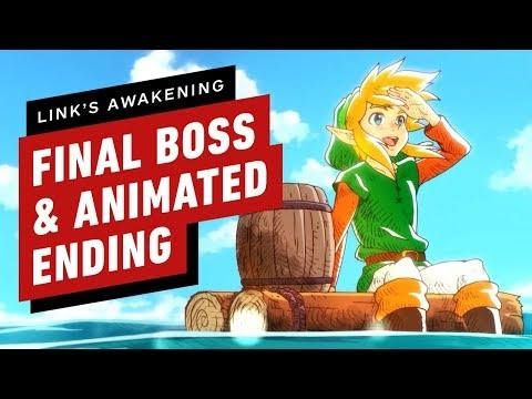 Beat the final boss of Zelda: Link's Awakening