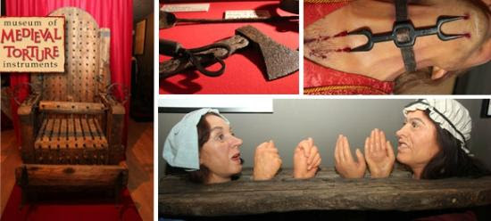 Museum of Medieval Torture Instruments: mix
