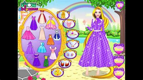 Rapunzel and Barbie dress up games   YouTube