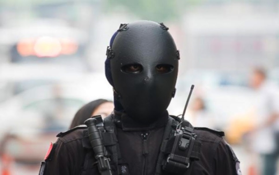 Forças especiais taiwanesas ganham traje aterrorizante