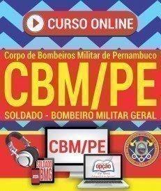 Curso online Concurso CBMPE 2017