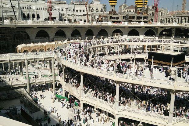 Mataf keliling Kaabah diruntuh 1 April ini