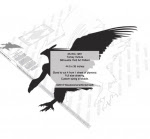 Turkey Vulture Silhouette Yard Art Woodworking Pattern - fee plans from WoodworkersWorkshop® Online Store - vultures,birds,wildlife,animals,African,savannah,yard art,painting wood crafts,scrollsawing patterns,drawings,plywood,plywoodworking plans,woodworkers projects,workshop blueprints
