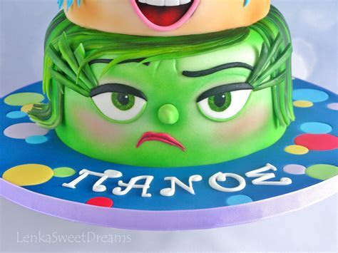 Inside Out Birthday Cake.   CakeCentral.com
