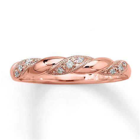 Rose Gold Rings: Rose Gold Rings At Kay Jewelers