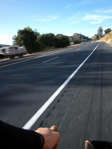 Riding on HWY 101