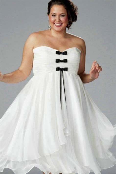Black And White Wedding Dresses Plus Size   Wedding and