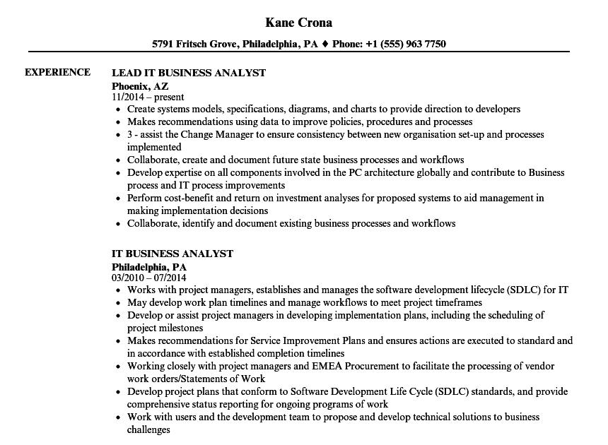 download 29 11 junior business analyst cv template