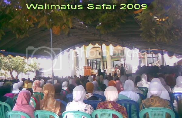 Walimatus safar,Haji