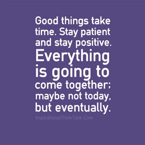 Best Things Take Time Quotes
