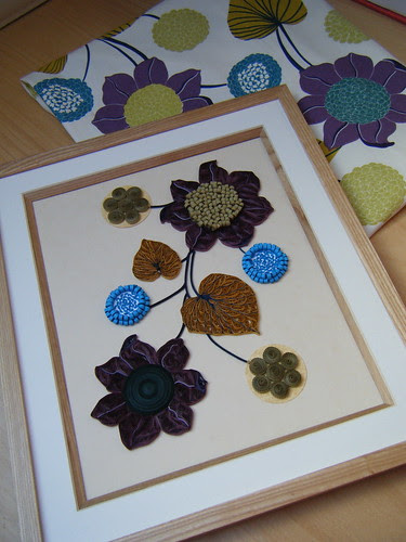 Quilled picture for Enid by Philippa Reid