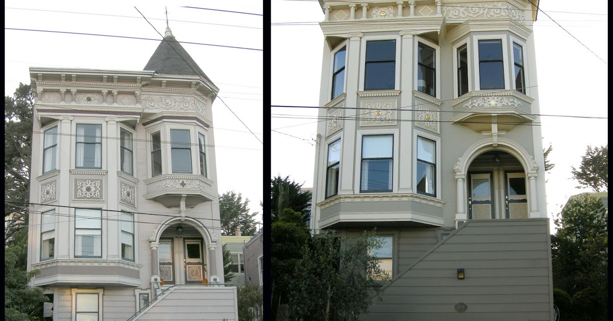 The ornamentalist exterior color using paint to emphasize architecture for Exterior victorian house parts