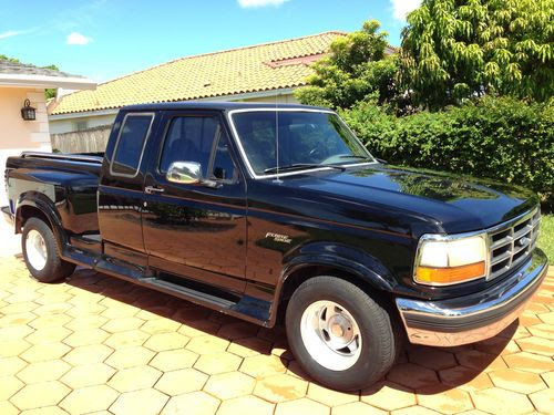 Buy Used 1995 Ford F 150 Flareside Special Supercab Black