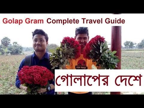 গোলাপ গ্রাম সাদুল্লাহপুর   শ্যামপূর   যাওয়ার উপায় । Golap Gram Sadullapur । Shampur Travel Guide