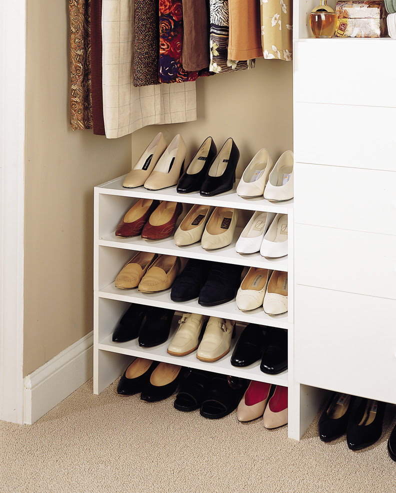 Shoe Organizers For Closets