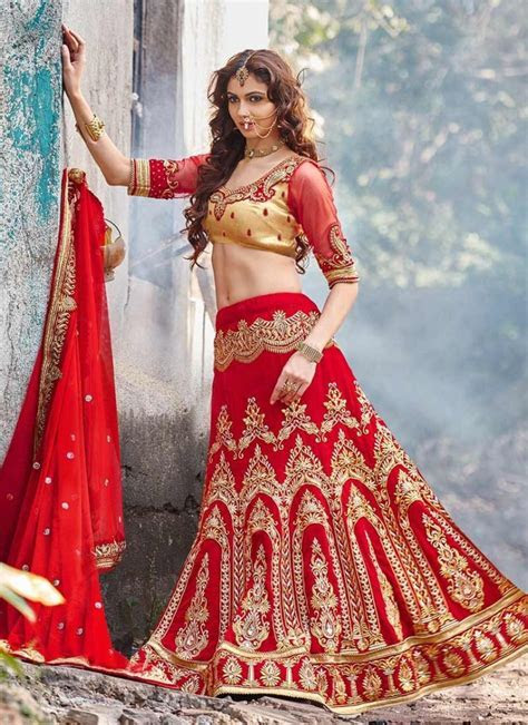 30 Latest Wedding Lehenga Choli Designs 2017   SheIdeas