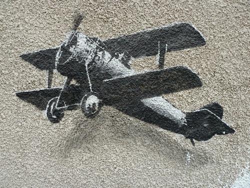 Banksy  - PLane Love