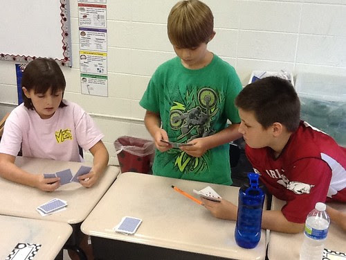 Learning math games