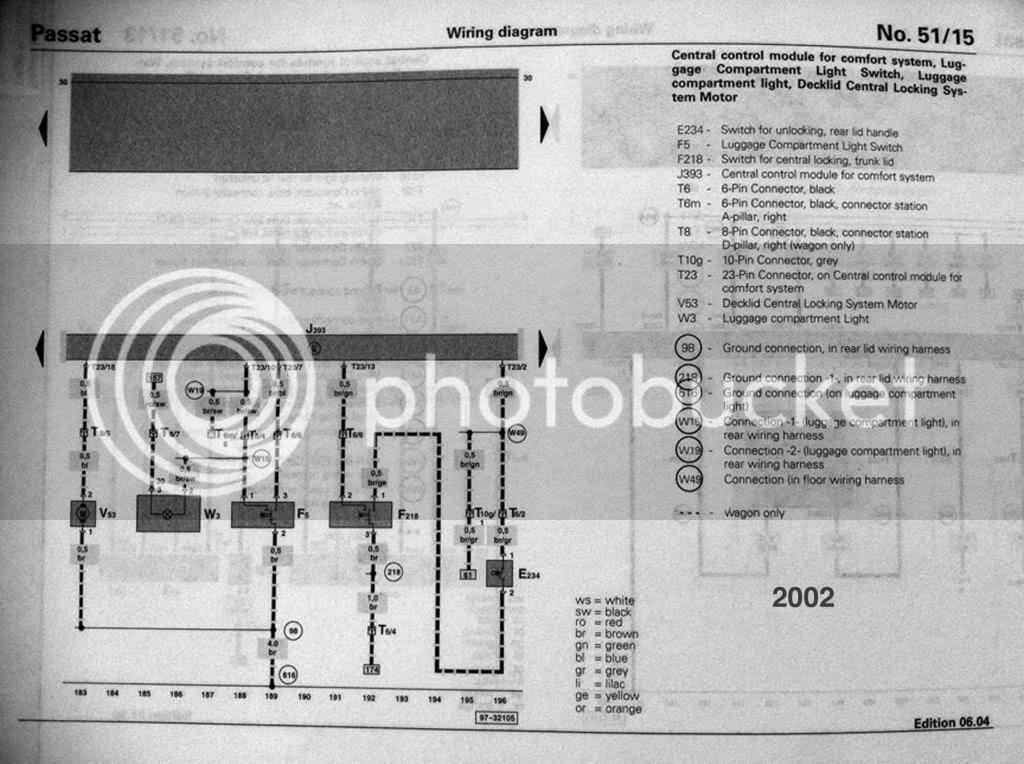 Wiring Diagram For Volkswagen Passat