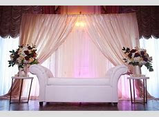 Taj Boston Muslim Wedding Reception Backdrop, Ivory Wedding Inspiration, Indian Wedding