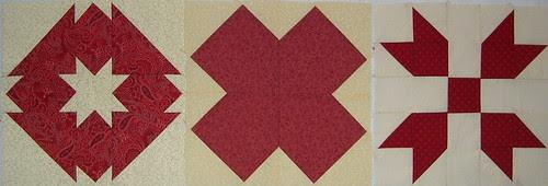 red sampler blocks