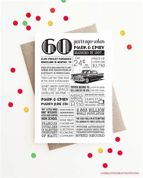 25  unique 60th anniversary ideas on Pinterest   25th