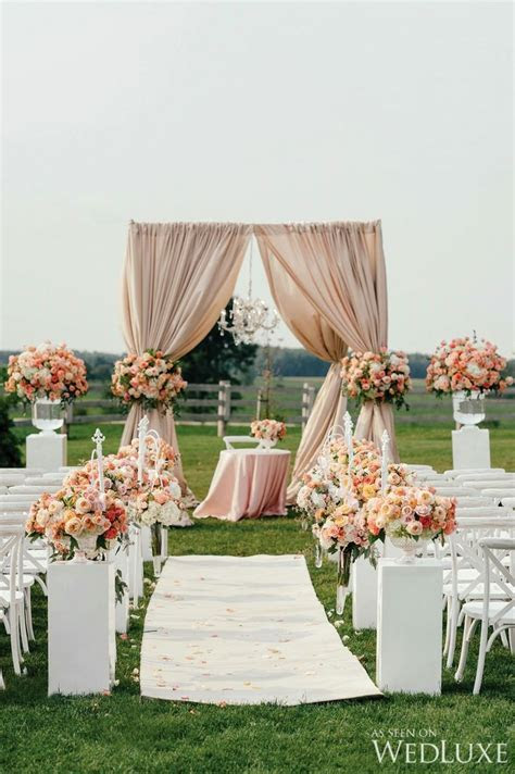 25  Best Ideas about Peach Wedding Decor on Pinterest