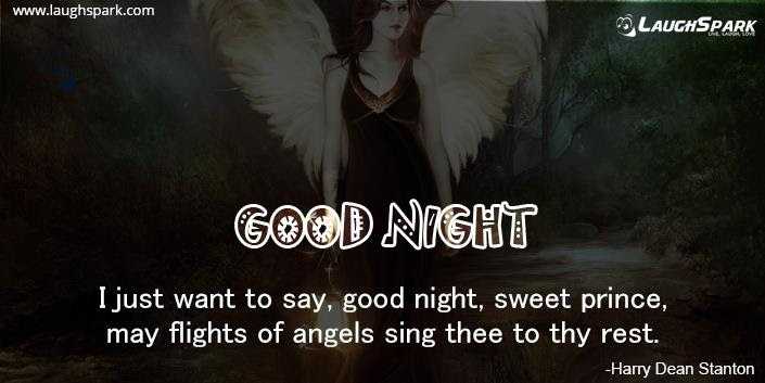I Just Want To Say Good Night Good Night Sms