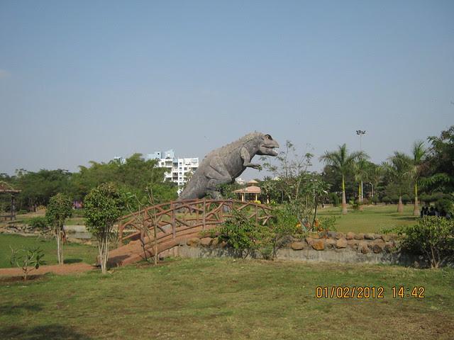 Dinosaur Park - Jijamata Udyan, near Darode-Jog Properties' Shriniwas Westside-County at Pimple Gurav, Pune 411 027